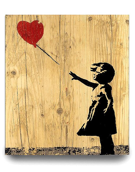 Banksy Bild