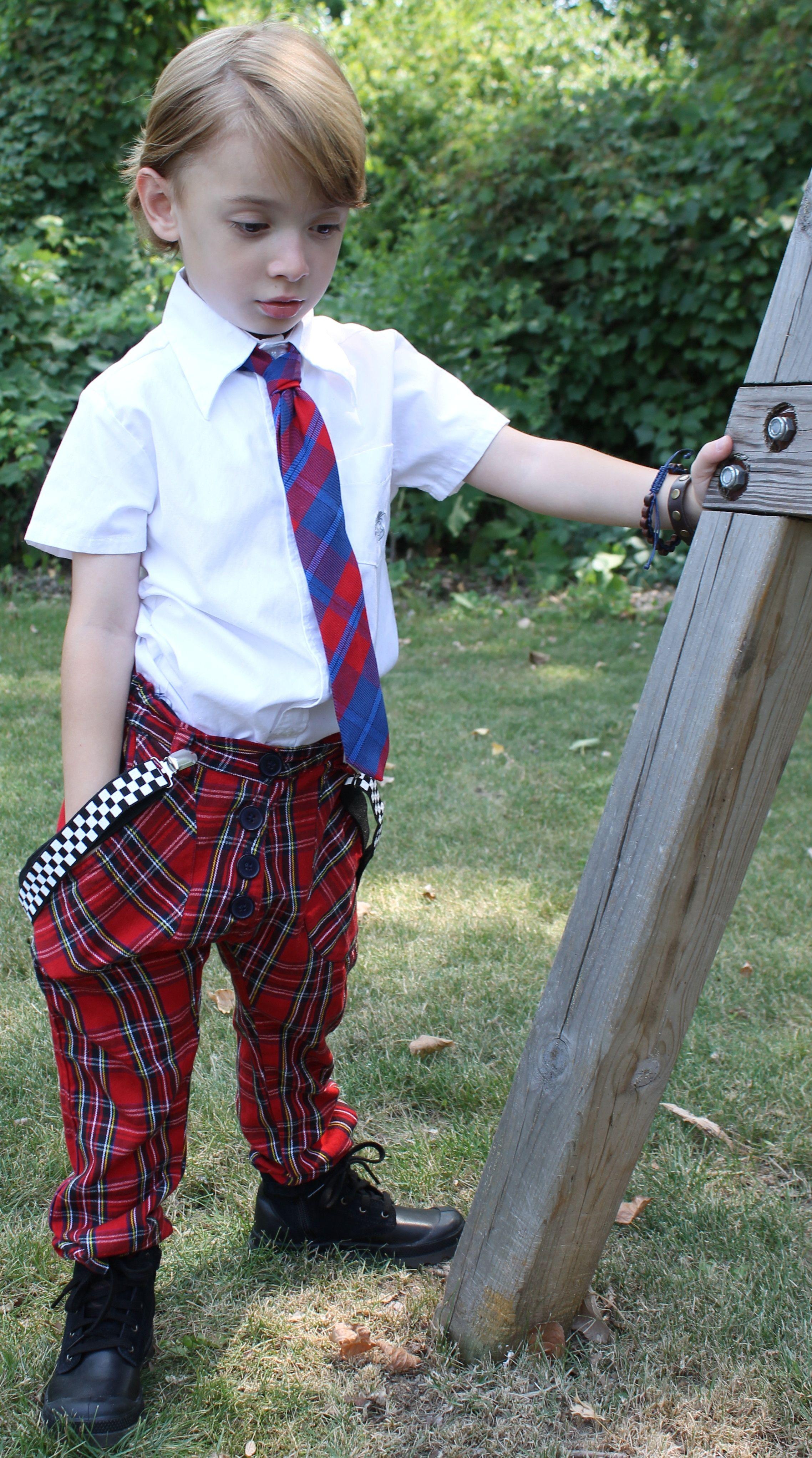 @Shampoodle Sweden Vicious pants, Palladium boots, @Melissa Nash Knuckleheads shirt & suspenders