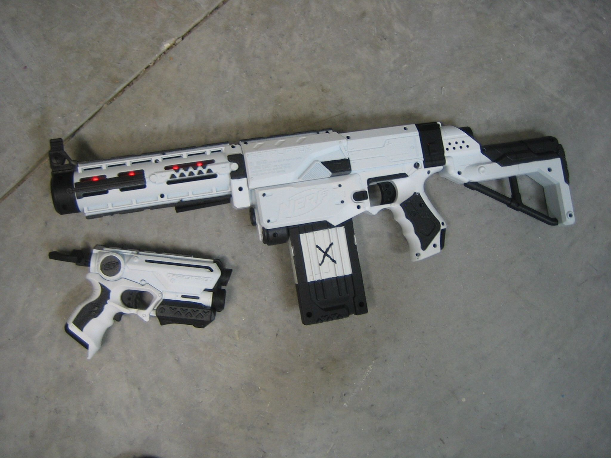 X com weapons by coop772. NerfWeaponsWeapons GunsWeaponGunsGunFirearms