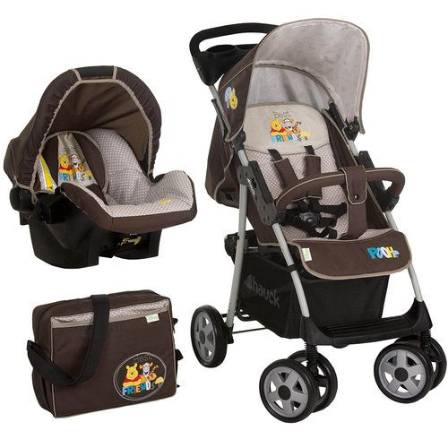 Hauck Winnie The Pooh Shop N Drive Travel System