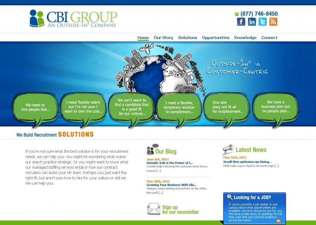 Web Design Staffing Industry News Website Design Business Planning