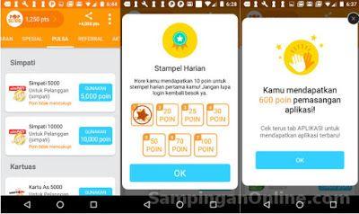 Trik Dapat Pulsa Gratis Dari Aplikasi Android Popslide Aplikasi Gratis Android