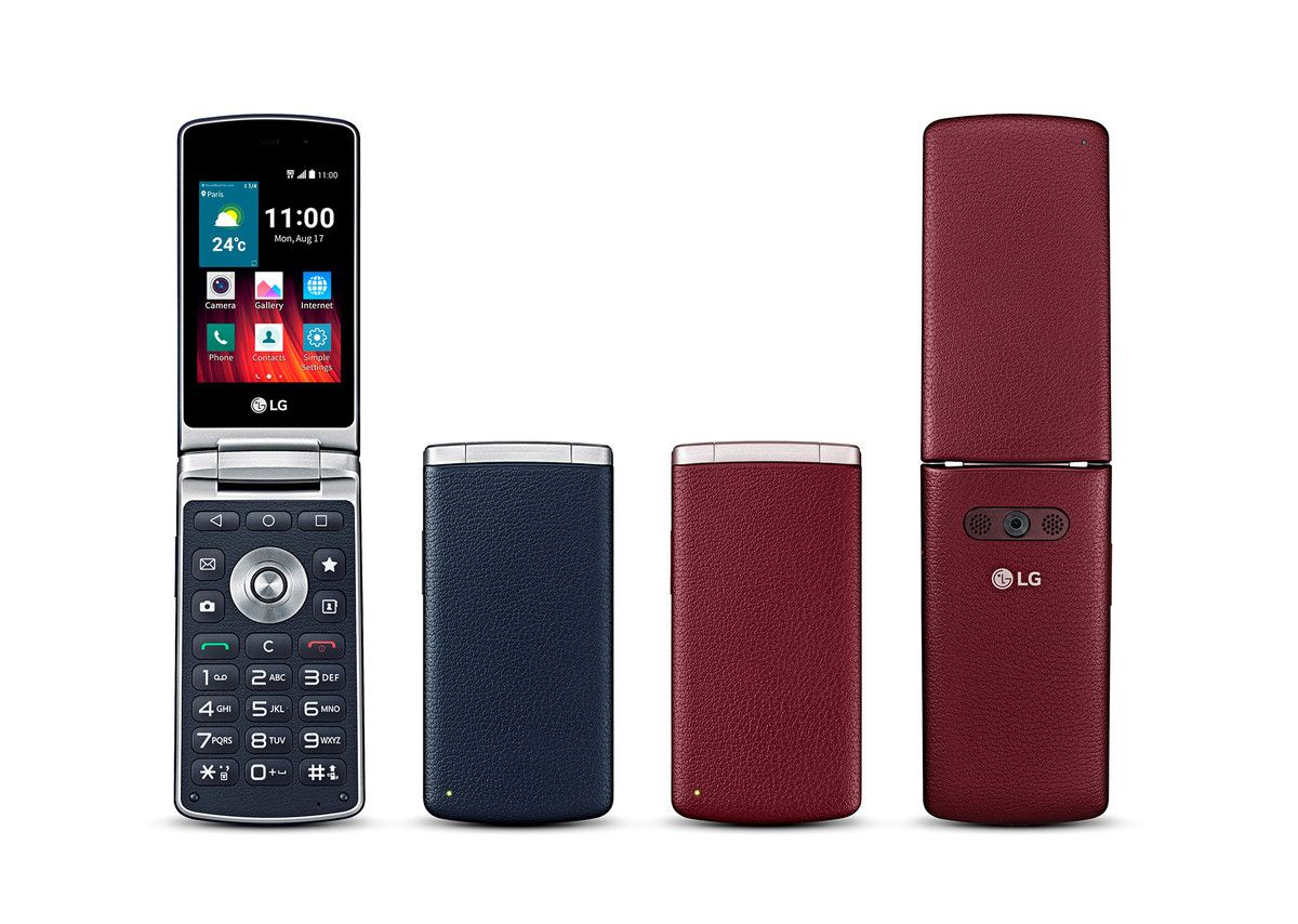 Lg S Android Flip Phone Gets Global Release As Wine Smart Flip Phones Android Flip Phone Smartphone