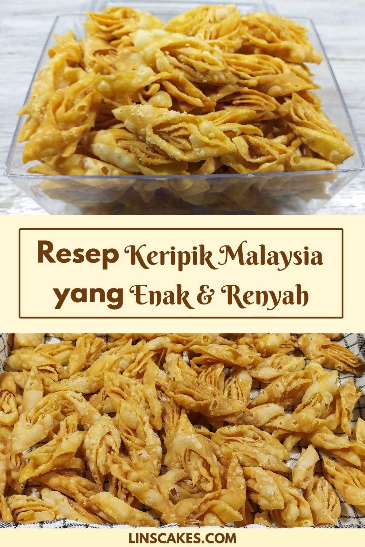 Resep Keripik Malaysia Yang Enak Dan Renyah Makanan Ringan Pedas Resep Masakan Malaysia Memasak