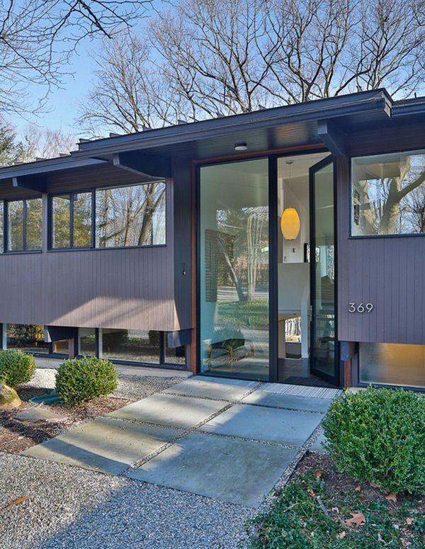 Updated mid century in New Jersey - http://www.interiordesign2014 ...
