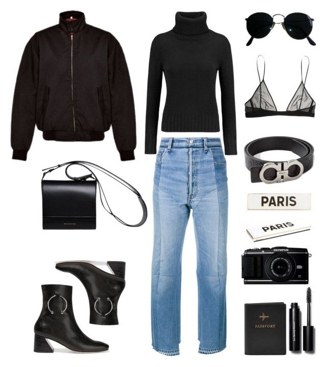 Paris Fashion Week by fashionlandscape on Polyvore featuring polyvore, fashion, style, N.Peal, Vetements, Yves Saint Laurent, Dorateymur, DESA, Ray-Ban, Bobbi Brown Cosmetics, Rosanna, Urban Outfitters, FOSSIL, Salvatore Ferragamo and clothing