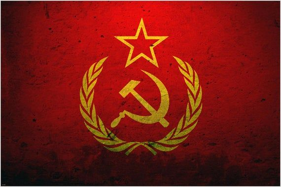 Grunge Style Ussr Communist Soviet Union Red Flag Poster 24x36 Classic New Rare In 2021 Soviet Union Ussr Flag Animated Wallpapers For Mobile