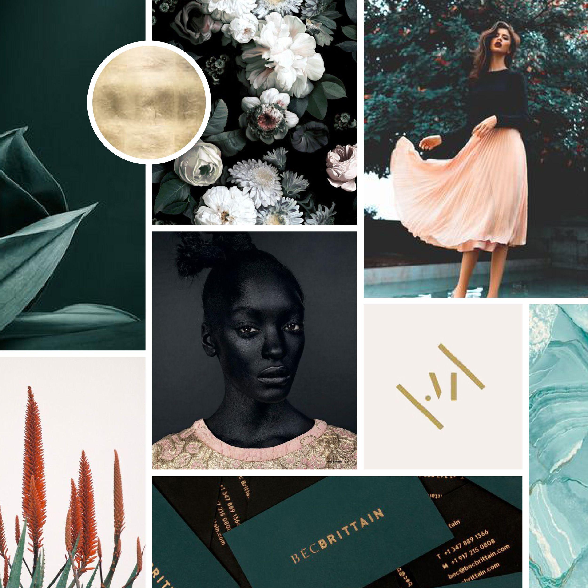 Moodboard for a Fashion Label   Sarah Le Donne   Graphic Design ...