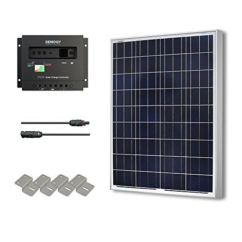 Hqst 100 Watt 12 Volt Polycrystalline Solar Panel Kit With 30a Pwm Charge Controller Portable Powers Solar Panels Rv Solar Panels Rv Solar Power