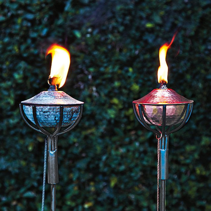 Awesome Hammered Garden Torch Lamp With Snuffer For Amazing Garden Torches For Your  Garden Beautify