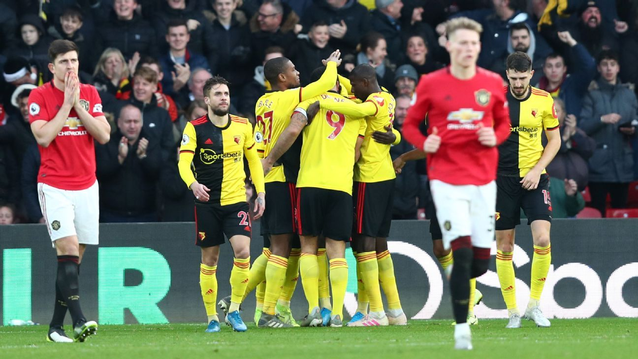 Man United Lose At Bottom Placed Watford In Pogba Return Man United Watford The Unit