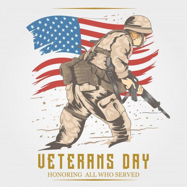 VETERANS DAY ARTWORK Veterans day  Premium Vector