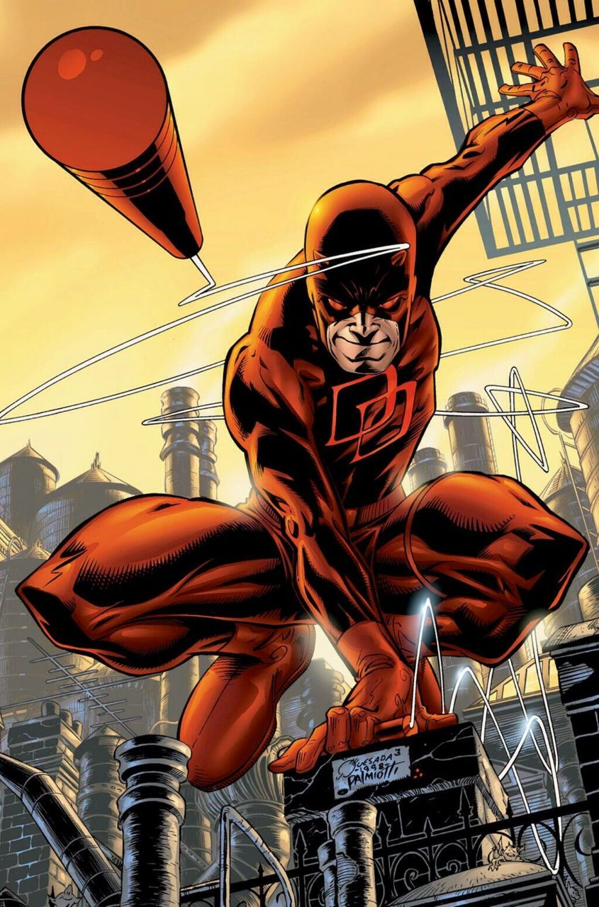 Daredevil - Joe Quesada Artwork Tv