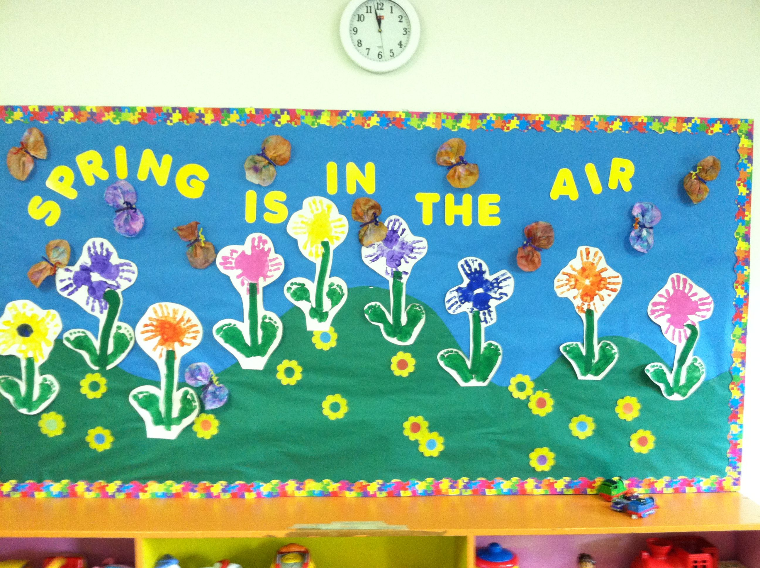 spring bulletin board ideas - Google Search | Projects to ...
