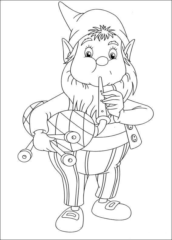 Dibujos para Colorear Noddy 39 | Dibujos para colorear para niños ...