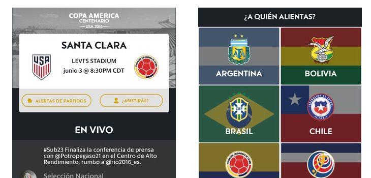 Toda la Copa América Centenario en tu iPhone con la app oficial - http://www.actualidadiphone.com/toda-la-copa-america-centenario-iphone-la-app-oficial/