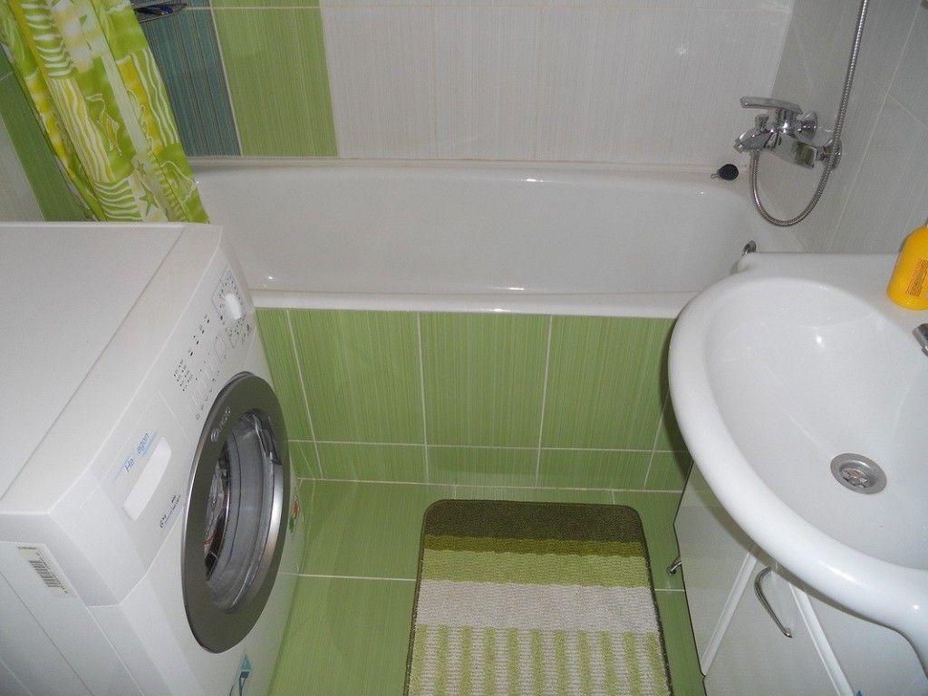 маленькая ванная комната дизайн фото в квартире