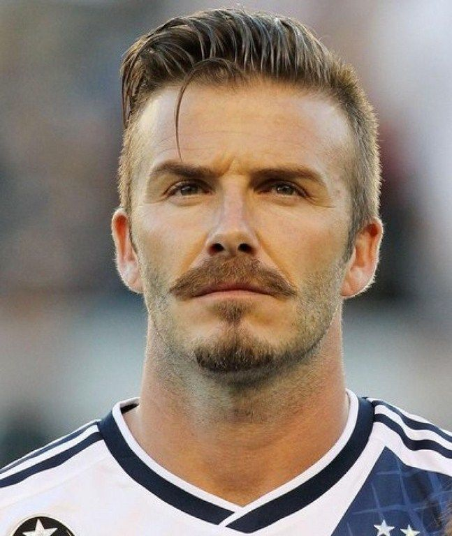 New David Beckham Hairstyle D A V I D B E C K H A M Pinterest