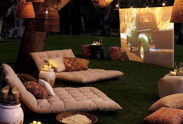 Cinema jardín