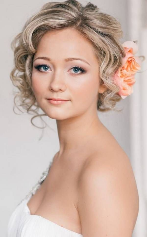 Short Wedding Hairstyles 2014 2015 For Braid Bob Wedding Hairstyles Short Wedding Hair Curly Wedding Hair