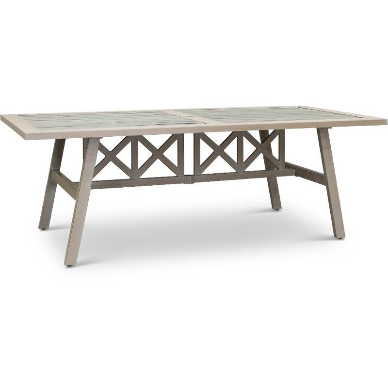 Polywood Top Patio Dining Table Lake House Patio Dining