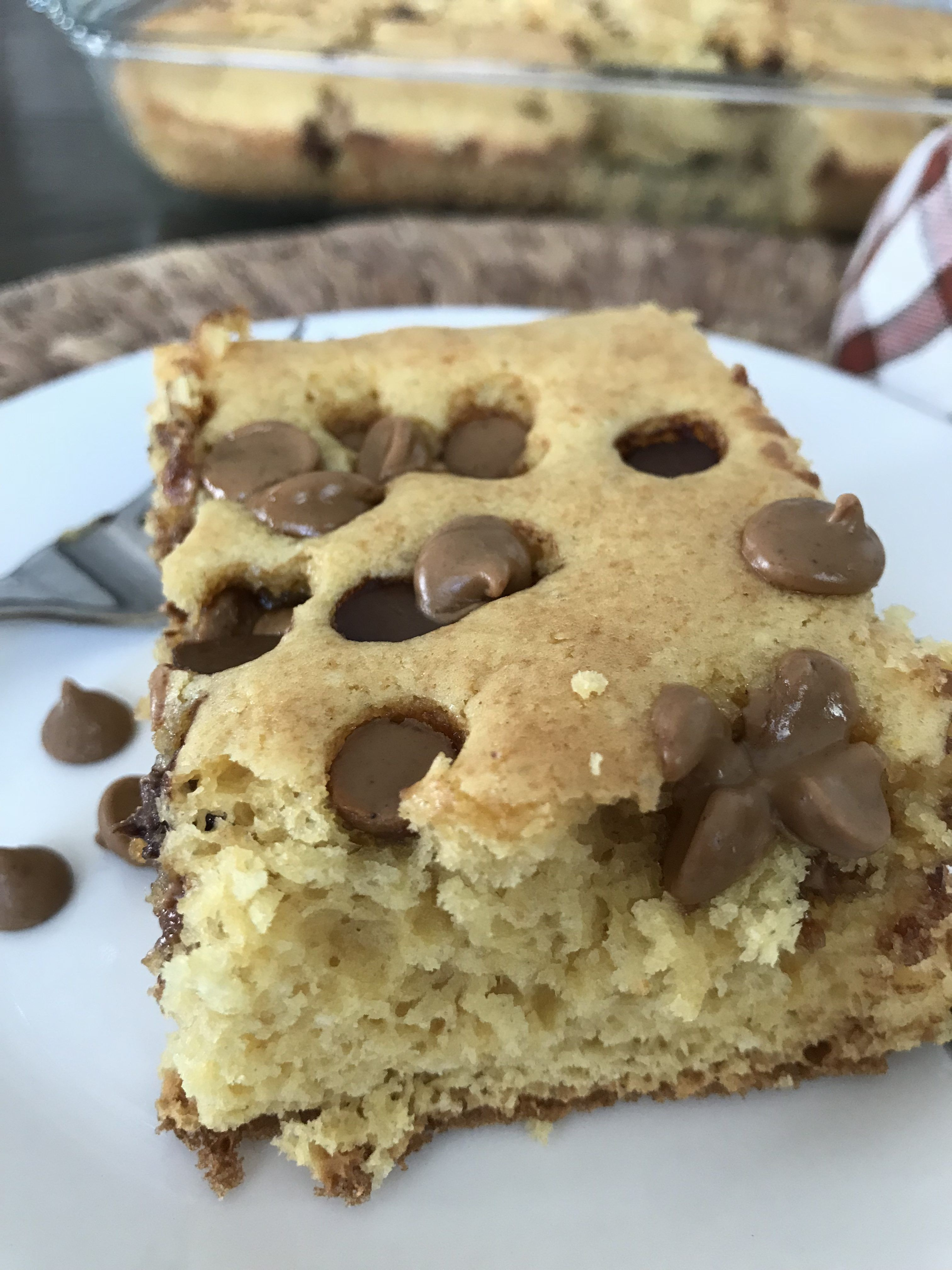 Easy peanut butter crumble cake squares recipe sugar