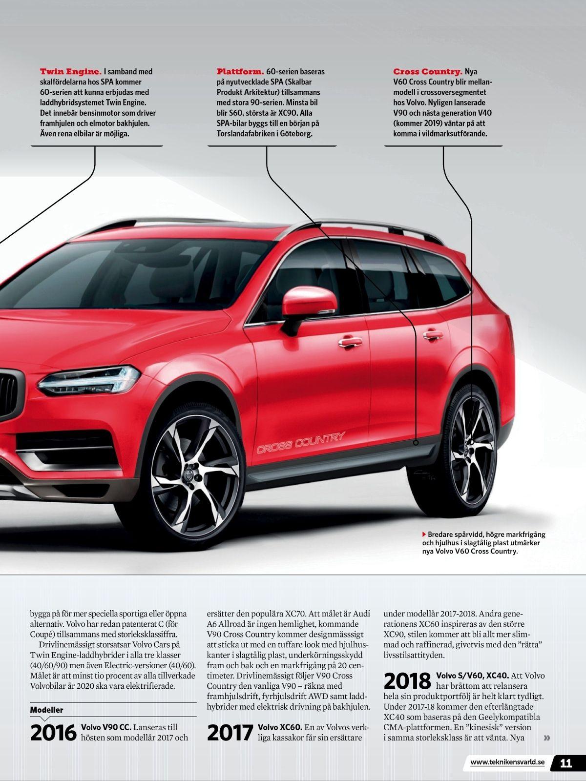 Volvo Modellar 2020 Redesign Di 2020
