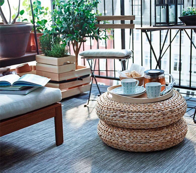 ideas deco deco diy exterior decorar balcon muebles. Black Bedroom Furniture Sets. Home Design Ideas