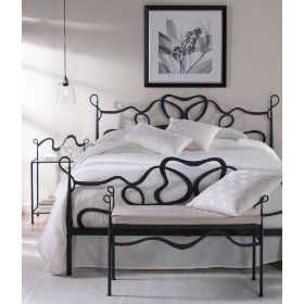 Clifton Park Iron Bed, KING, BLACK $499.00