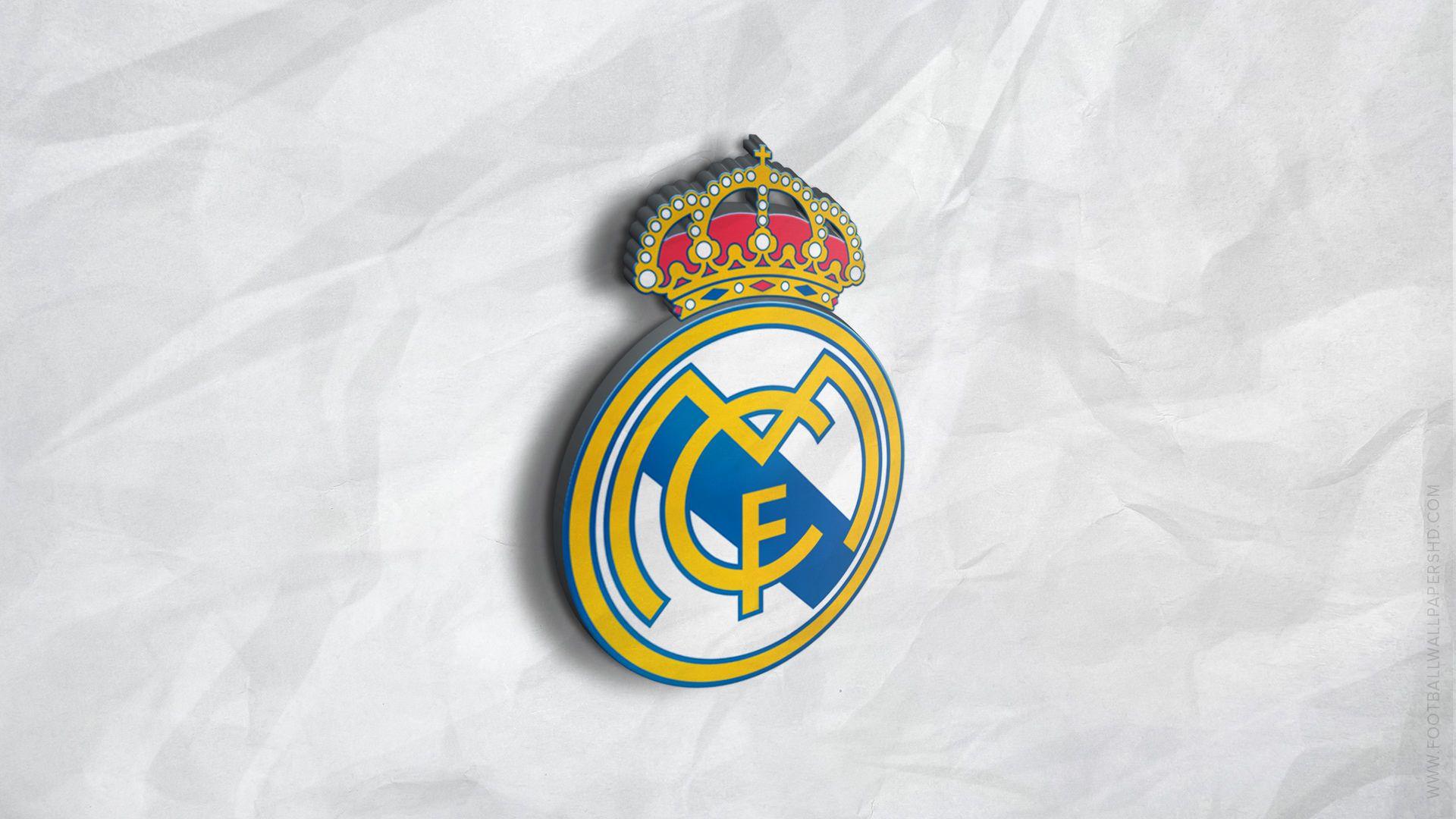 Real Madrid 3d Logo Wallpaper Real Madrid Wallpapers Real Madrid Logo Wallpapers Madrid Wallpaper