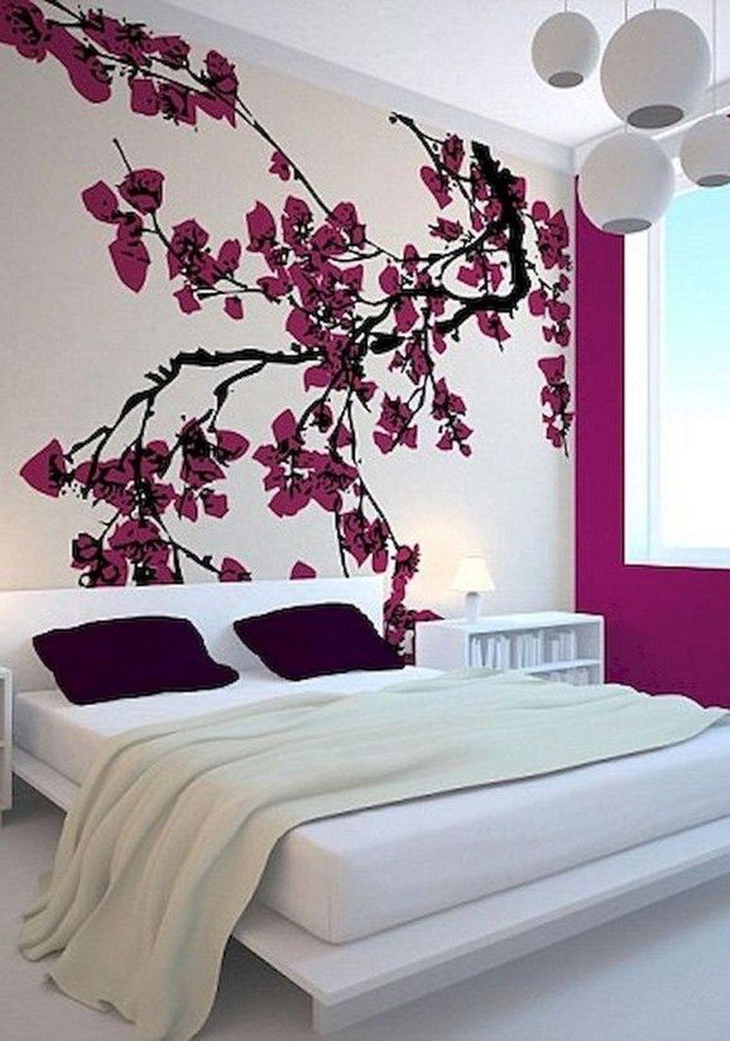 37 Relaxing Bedroom Wallpaper Decoration Ideas For Comfortable Bedroom Wallpaper Bedroom Japanese Bedroom Decor Wallpaper Design For Bedroom
