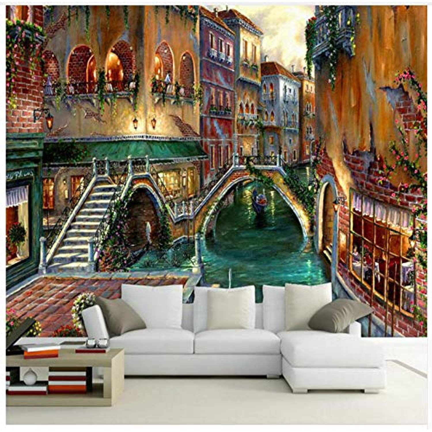 3d Wall Paper Decorative Oil Painting 3d Wallpaper For Living