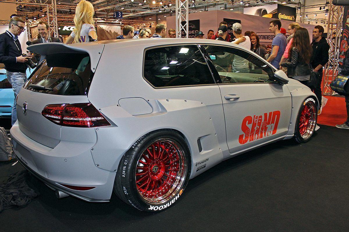 Vw Golf Vii Rocket Bunny Essen Motor Show 2015 Vwr32interior