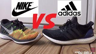 adidas Ultra Boost VS Nike Flyknit Lunar 3 Shoes Sneakers    adidas Ultra Boost versus Nike Flyknit Lunar 3 schoenen   title=  f70a7299370ce867c5dd2f4a82c1f4c2     Sneakers