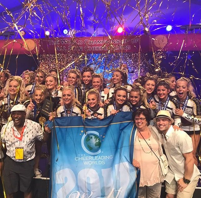 World Cup Shooting Stars 2017 Senior Large World Champions Silver Cheer Athletics Panthers Bronze Cheer Extreme Senior Cheer Extreme Cheer Athletics Cheer