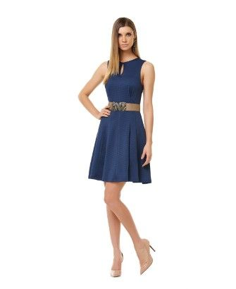 Vestido Piquet Recortes - TVZ - mTVZ