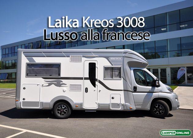 Laika Kreos 3008 - La prova completa su www.camperonlie.com