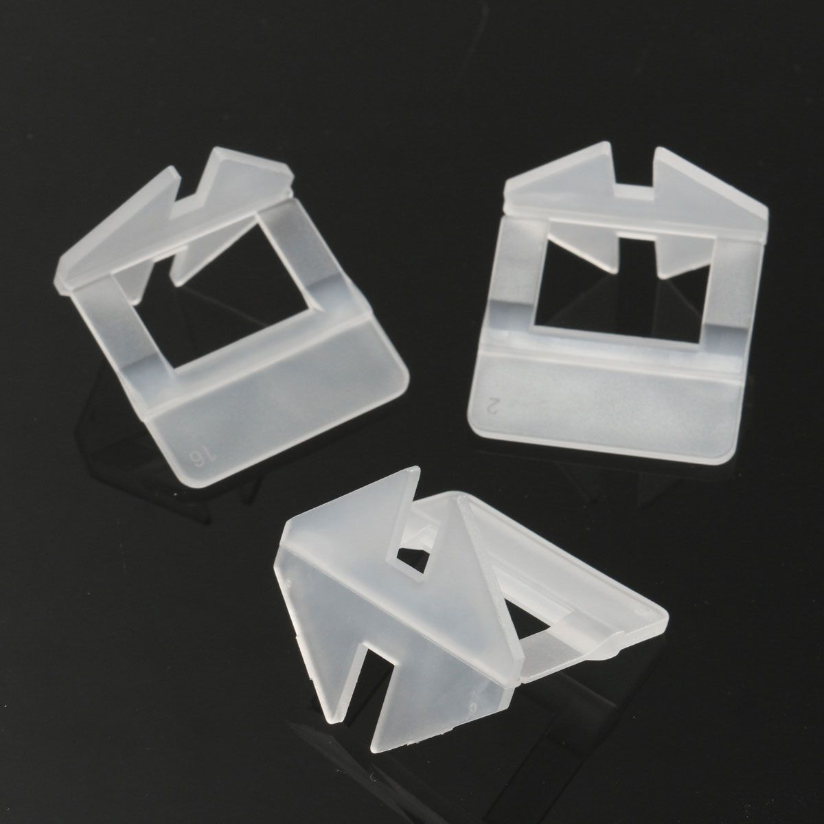 200pcsset tile leveling system clips spacer plastic tiling tools tile leveling system clips spacer plastic tiling tools prevent the movement of ceramic tile favorable price dailygadgetfo Image collections