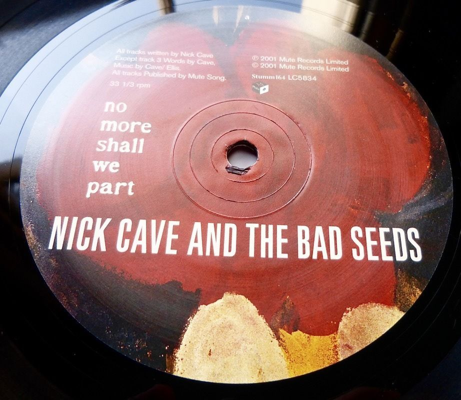 Nick Cave No More Shall We Part 2001 Uk Mute Original Limited Press W Inners Nick Cave The Bad Seed The Originals