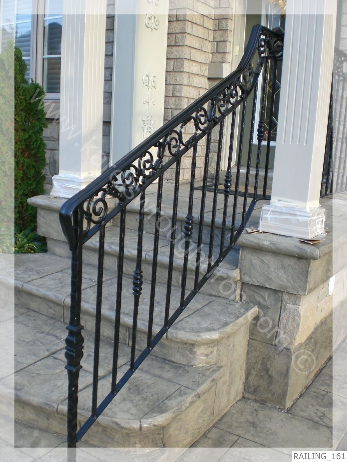 Home Design Inspirational Wrought Iron Railing Designs Home Color Ideas Wrought As Wells As W Wrought Iron Railing Railing Design Wrought Iron Railing Exterior