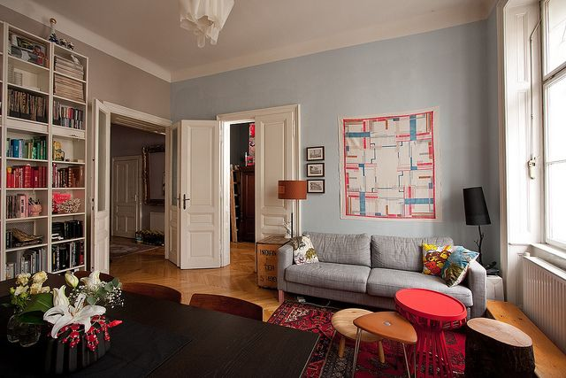 Bernd   livingroom via flickr also apartment therapy apartments and interiors