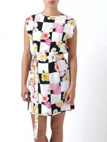 Silk Dress Spring/summer Msgm 6fyLuQD235
