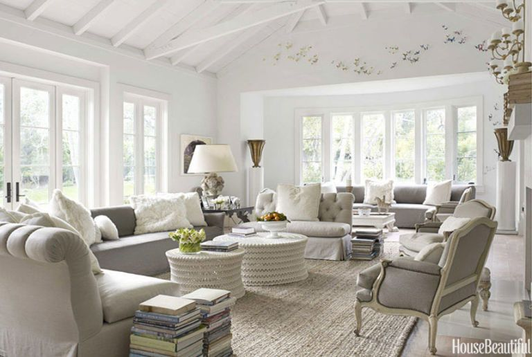 Gray Rooms Decorating With