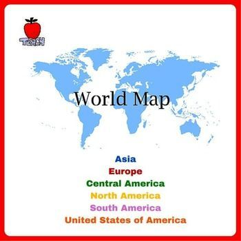 Review world map skills and basic geography gumiabroncs Choice Image