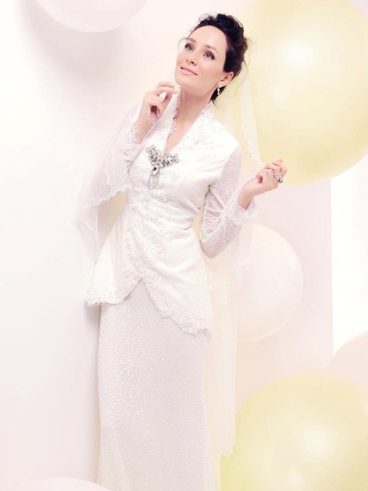 Pin By Amirah Z On Dresses Malay Wedding Dress Wedding Simple