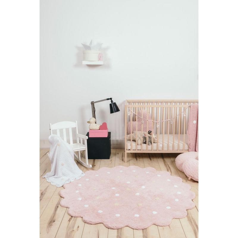 4 8 200 Little Biscuit Pink Girl Nursery Black White Pink