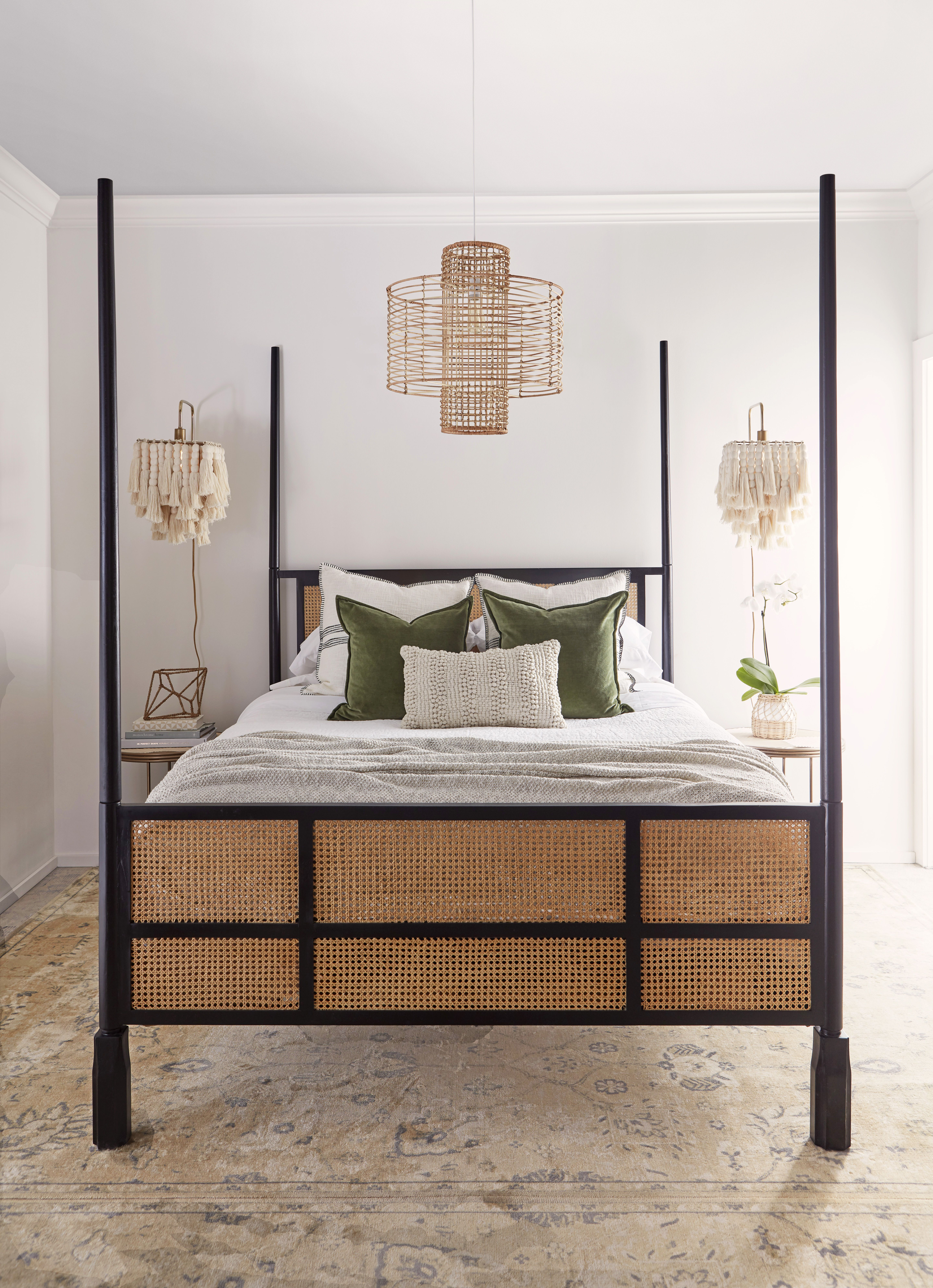 Stockholm Bed in Natural/Black in 2020 Trending decor