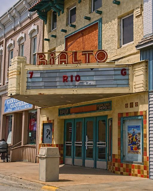 The Rialto Oh The Places We Will Go Missouri Valley Iowa