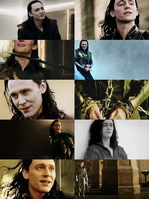 Cause of death tonight - Loki in the new Thor movie. *dead* I LOVE YOU AND I HATE YOU ALL.