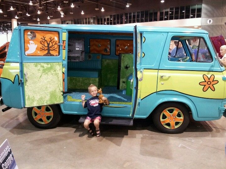 The mystery machine cars and motorcycles combi et scoubidou - Voiture de scoubidou ...